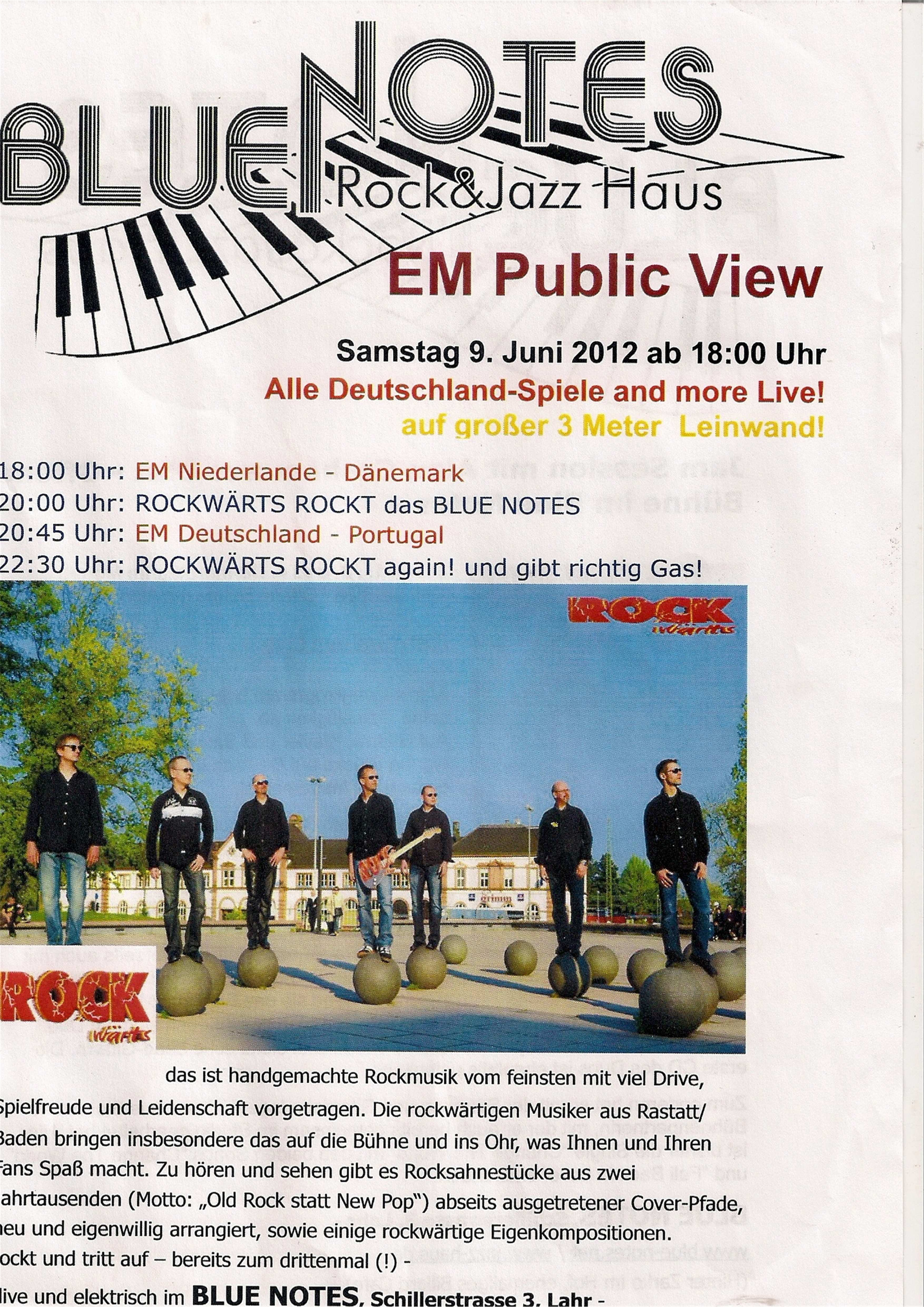 Blue Notes 09 06 2012